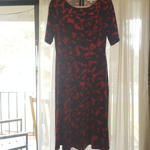 NWOT Red and Black Dress